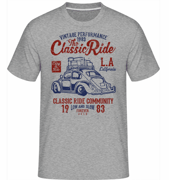 The Classic Ride -  Shirtinator Men's T-Shirt - Heather grey - Front