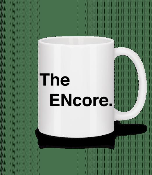 Encore - Keramický hrnček - Biela - Predné