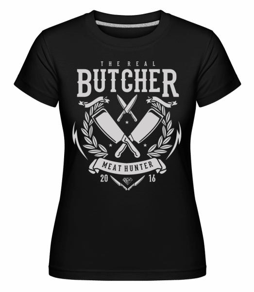 The Real Butcher -  Shirtinator Women's T-Shirt - Black - Vorn
