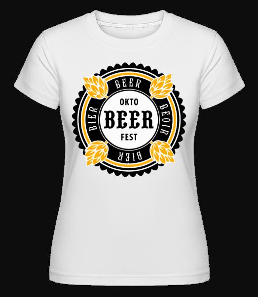Oktobeer Fest -  Shirtinator Women's T-Shirt - White - Vorn