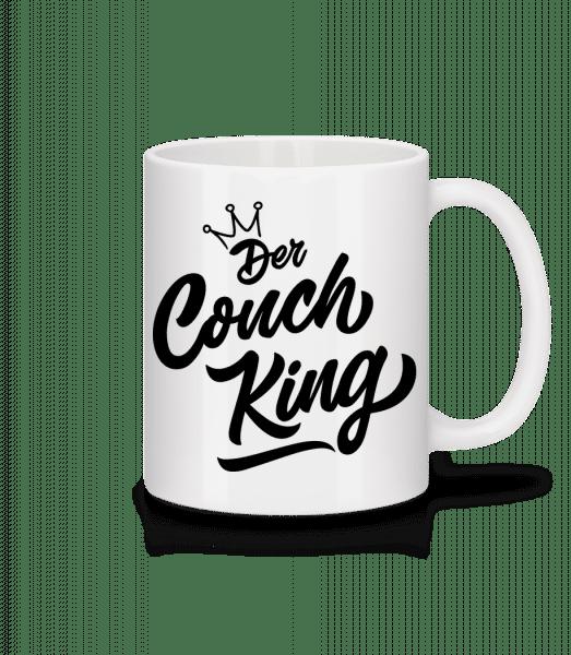 Der Couch King - Tasse - Weiß - Vorn