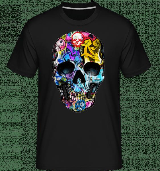 Graffiti Dead -  Shirtinator Men's T-Shirt - Black - Vorn