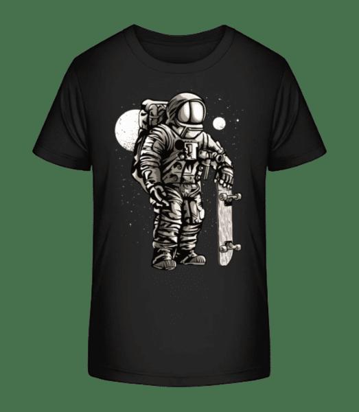 Astronaut Skater - Kid's Premium Bio T-Shirt - Black - Vorn