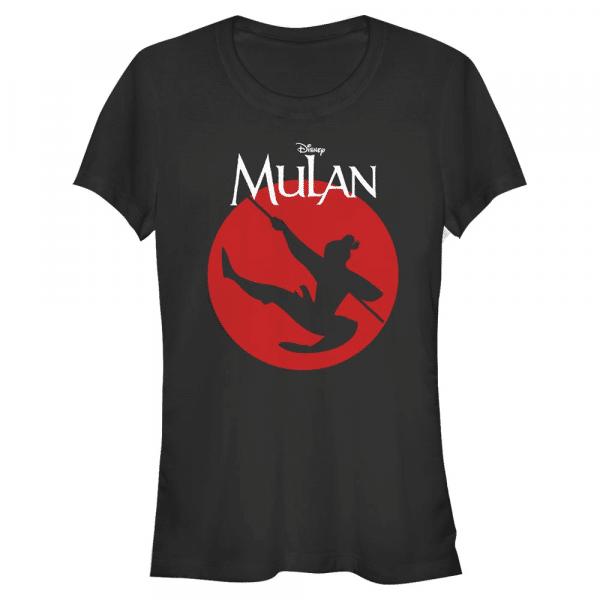Mulan Warrior - Disney - Women's T-Shirt - Black - Front