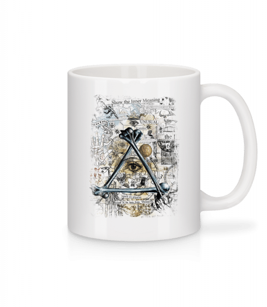 Show The Inner Meaning - Mug - White - Vorn