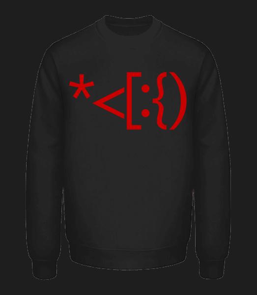 Brackets Santa - Unisex Sweatshirt - Black - Vorn