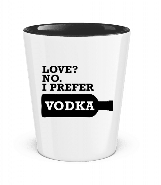 I Prefer Vodka - Two-Toned Shot Glass - White - Vorn