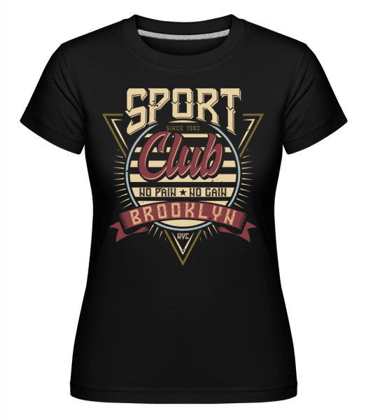 Sport Club Brooklyn -  Shirtinator Women's T-Shirt - Black - Vorn