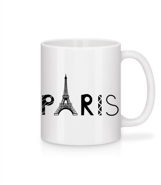 Paris France - Mug - White - Front