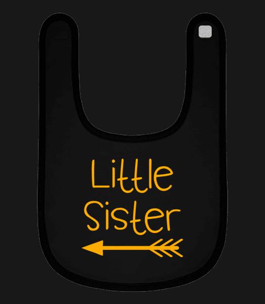 Little Sister - Baby Bib - Black - Vorn