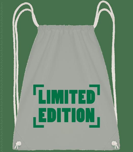 Limited Edition - Drawstring Backpack - Anthracite - Vorn