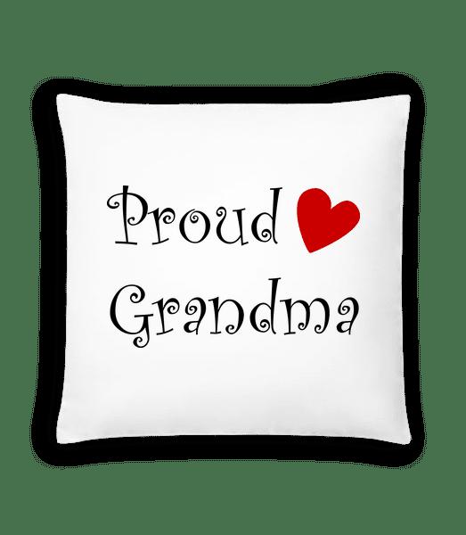 Proud Grandma - Cushion - White - Vorn