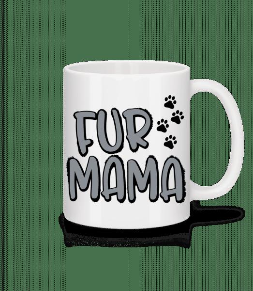 Fur Mama - Mug - White - Vorn