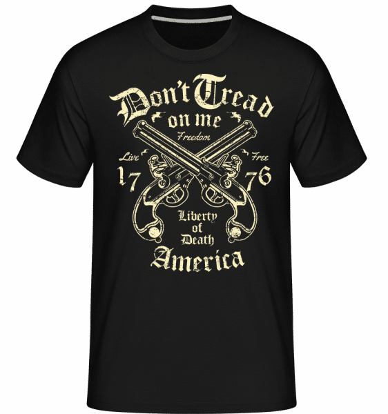 Liberty Of Death -  Shirtinator Men's T-Shirt - Black - Vorn