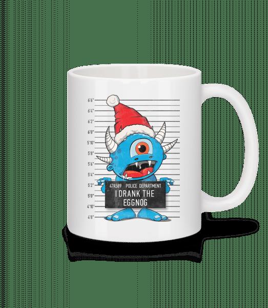 Monster Christmas Criminal Photo - Mug - White - Vorn