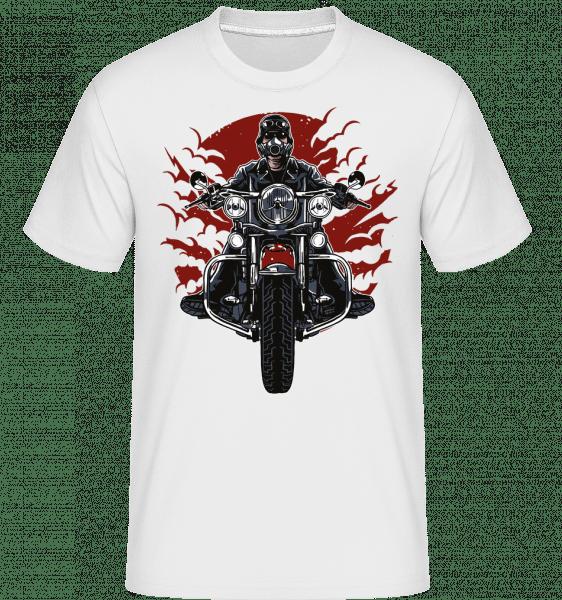 Wild Biker -  Shirtinator Men's T-Shirt - White - Vorn