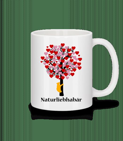 Naturliebhabär - Tasse - Weiß - Vorn