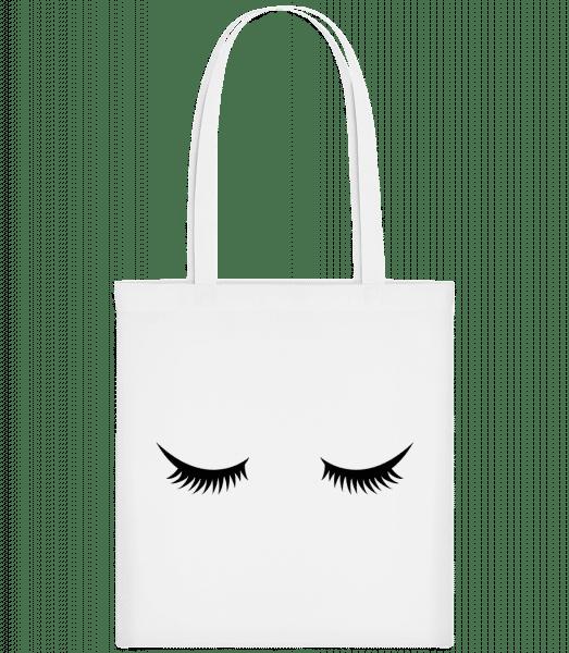 Eye Lashes - Taška Carrier - Biela - Predné