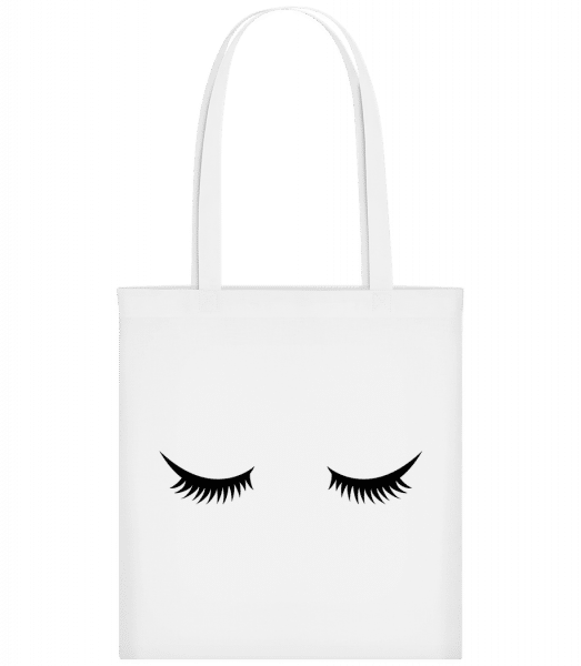 Eye Lashes - Carrier Bag - White - Vorn