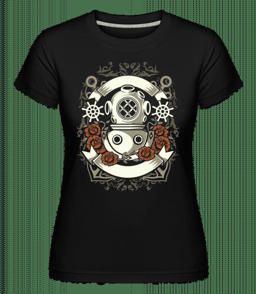Diver - Shirtinator Frauen T-Shirt - Schwarz - Vorn