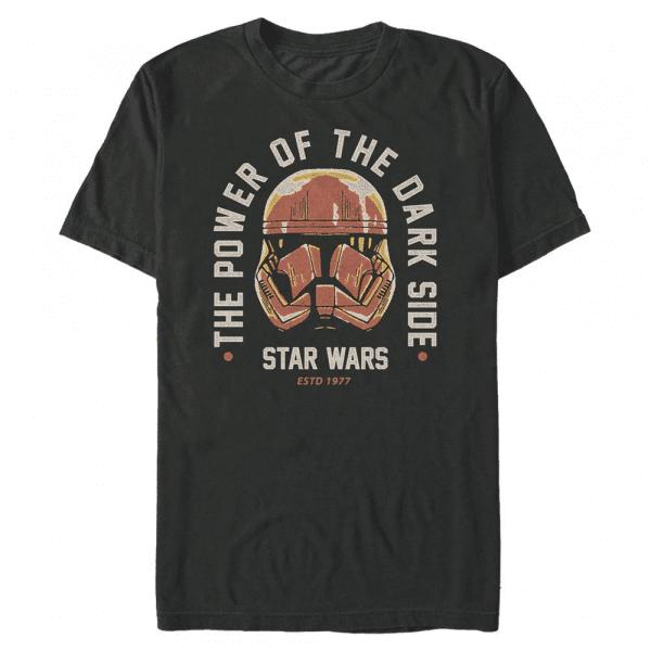 Dark Side Power Group Shot - Star Wars - Men's T-Shirt - Black - Front