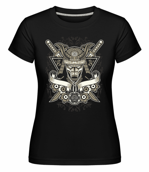 Samurai -  Shirtinator Women's T-Shirt - Black - Vorn