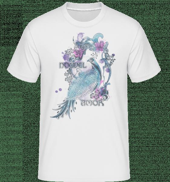 Aquarell Fasan - Shirtinator Männer T-Shirt - Weiß - Vorn