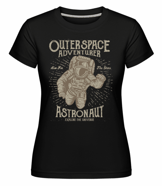 Astronaut -  Shirtinator Women's T-Shirt - Black - Vorn