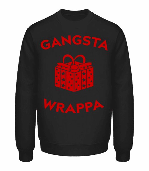 Gangsta Wrappa - Unisex Sweatshirt - Black - Vorn