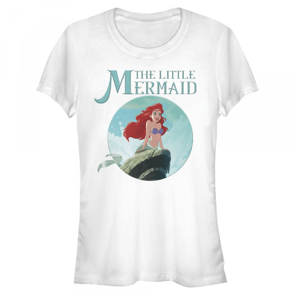 Mermaid Ariel - Disney The Little Mermaid - Women's T-Shirt - White - Front