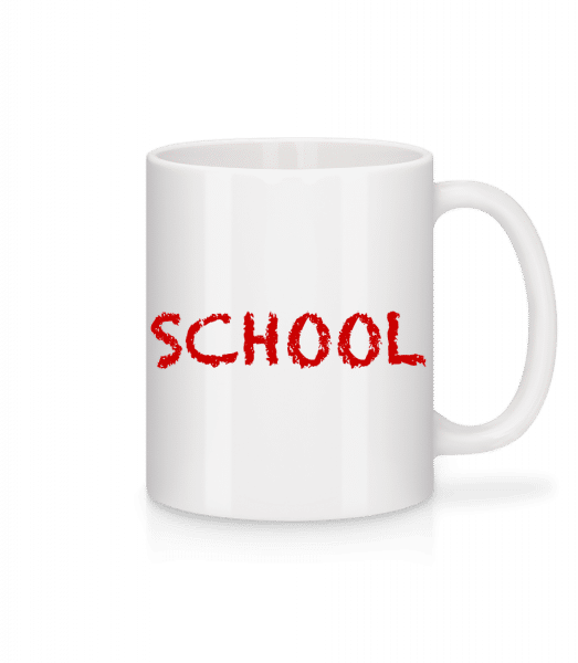 School - Mug - White - Vorn