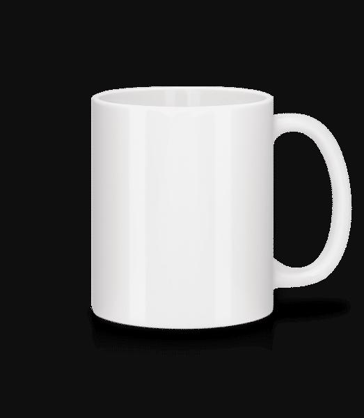 Keramický hrnek - Bílá - Napřed