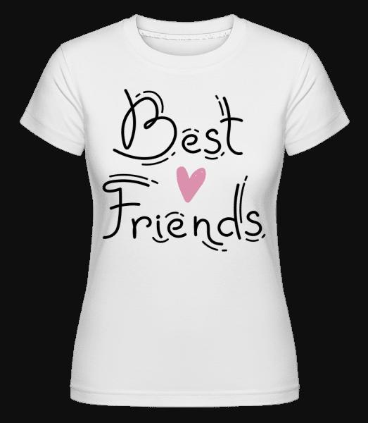 Best Friends -  Shirtinator Women's T-Shirt - White - Vorn