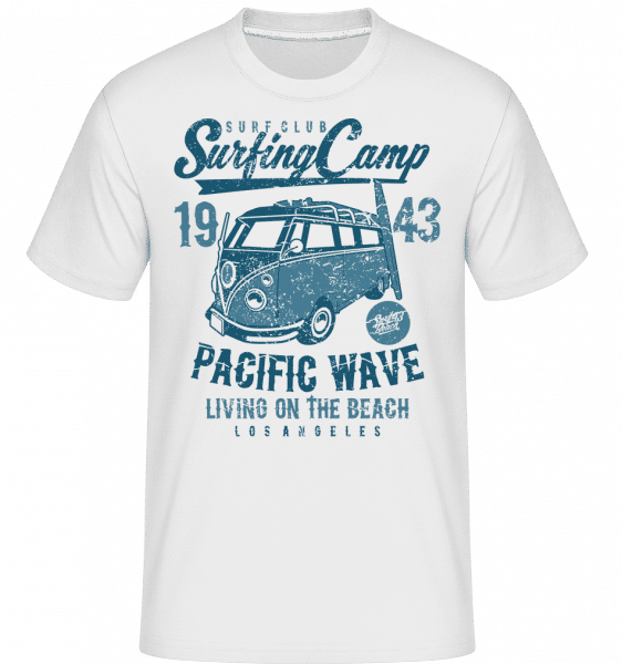 Surfing Camp -  Shirtinator Men's T-Shirt - White - Vorn