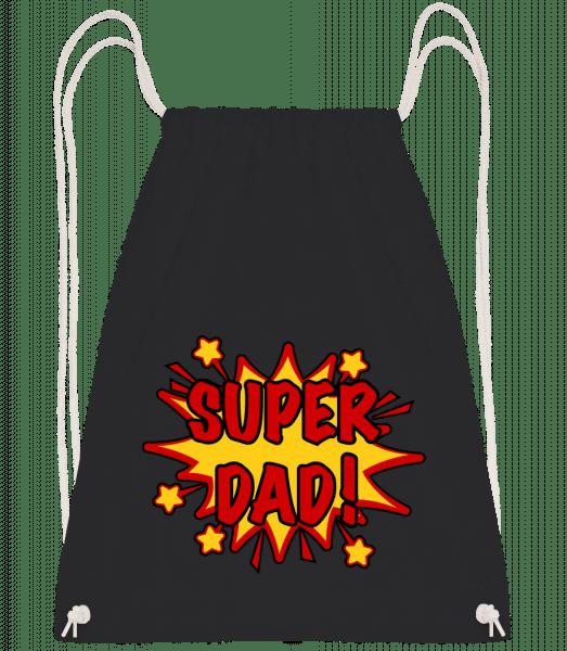 Super Dad! - Turnbeutel - Schwarz - Vorn