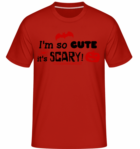 So Cute It's Scary -  T-Shirt Shirtinator homme - Rouge - Vorn