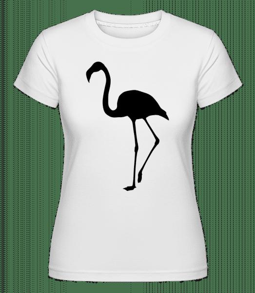 Ombre De Flamant -  T-shirt Shirtinator femme - Blanc - Vorn