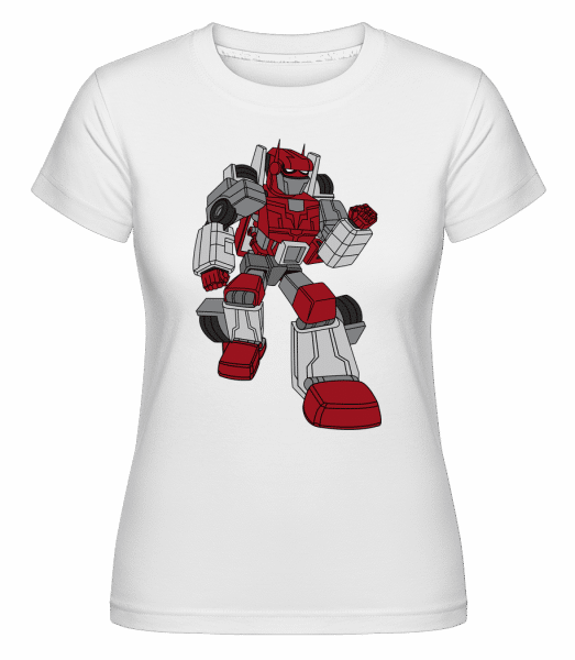 Car Robot -  Shirtinator Women's T-Shirt - White - Front
