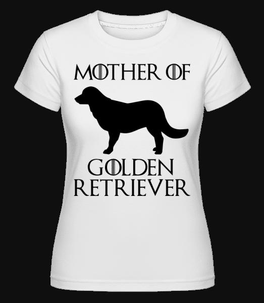 Mother Of Golden Retriever -  Shirtinator Women's T-Shirt - White - Vorn