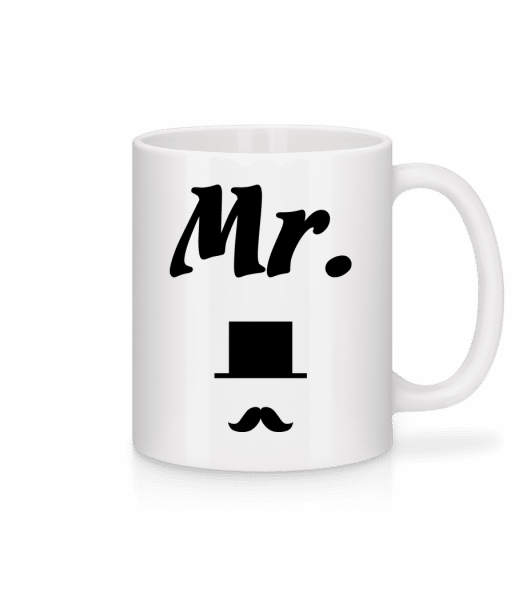 Mr. Wedding - Mug - White - Vorn