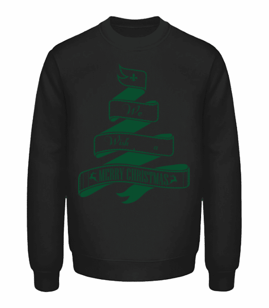 We Wish You A Merry Christmas - Unisex Sweatshirt - Black - Vorn