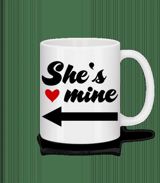 She Is Mine - Mug - White - Vorn