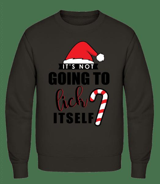 It's Not Going To Lick Itself - Men's Sweatshirt AWDis - Grey - Vorn