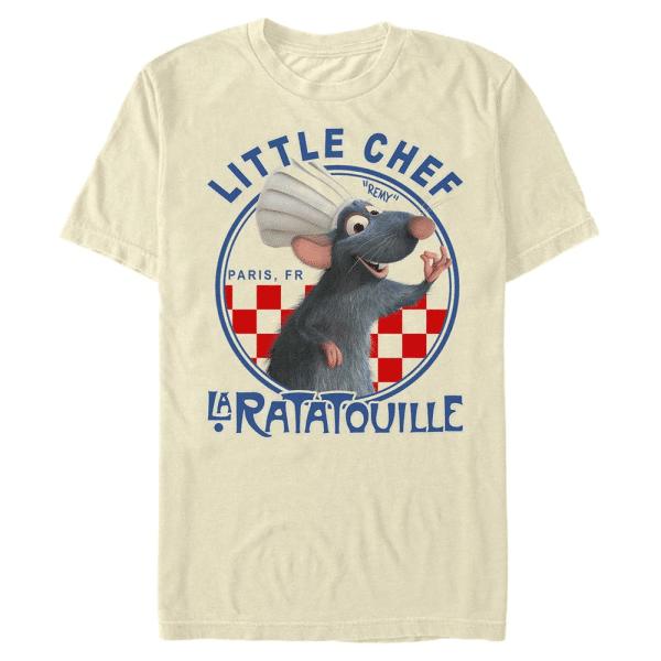 A Ok Remy - Pixar Ratatouille - Men's T-Shirt - Cream - Front