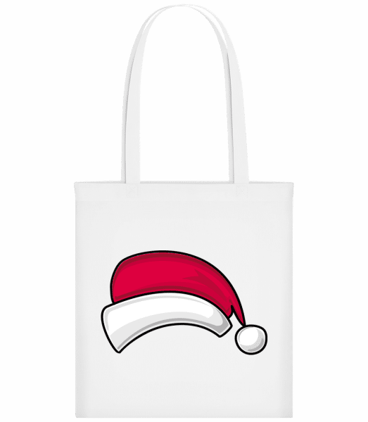 Santa Hat - Carrier Bag - White - Vorn