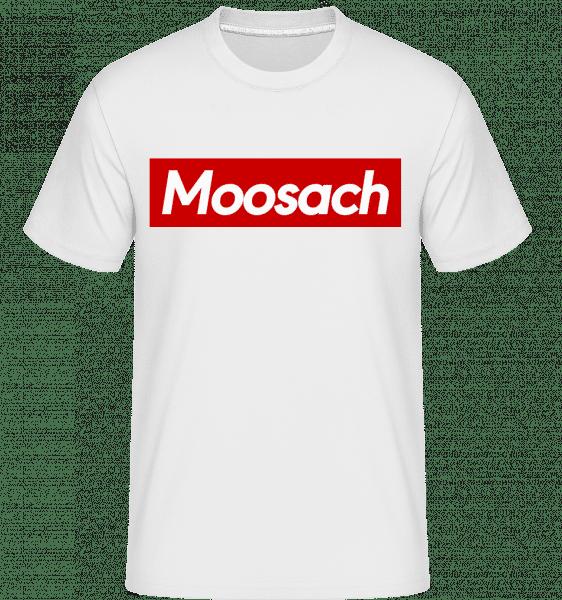 Moosach - Shirtinator Männer T-Shirt - Weiß - Vorn