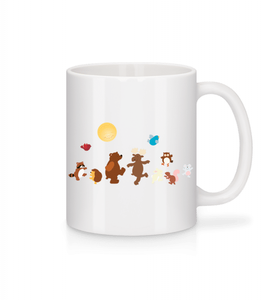 Baby Animal Party - Mug - White - Front