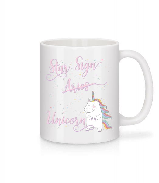Star Sign Unicorn Aries - Mug - White - Vorn
