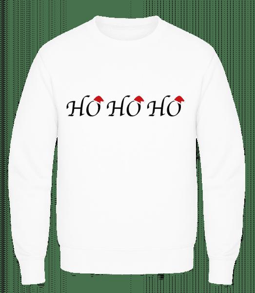 Ho Ho Ho - Men's Sweatshirt AWDis - White - Vorn