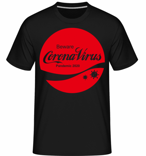 Corona Virus Pandemic -  Shirtinator Men's T-Shirt - Black - Vorn